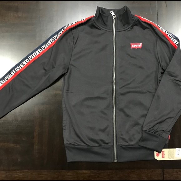 Levi's Other - LEVI'S Boys Front Zip Track Jacket Size 8-10/ S